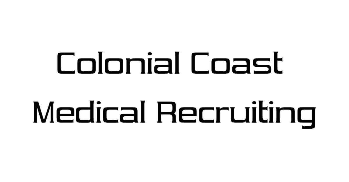 Nurse Practitioner jobs at Colonial Coast Medical Recruiting
